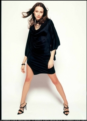 Amy Acker achtergrond possibly containing bare legs, a playsuit, and a legging entitled Session 2 Photoshoot