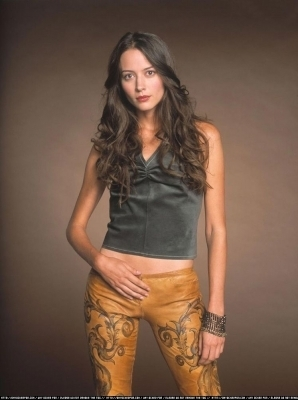 Amy Acker kertas dinding probably containing a playsuit, a hip boot, and a legging entitled Session 4 Photoshoot