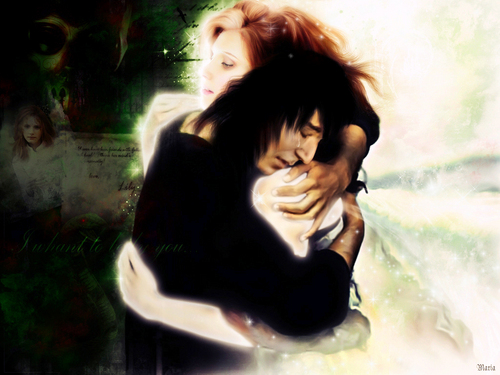 Severus and Lily - severus-snape Wallpaper