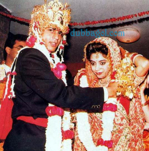 celeb weddings wallpaper called Shahrukh and Gauri