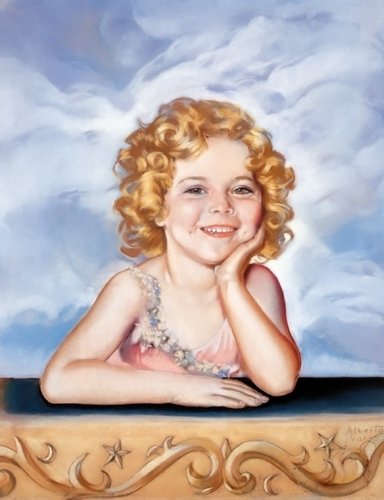 Shirley Temple by Vargas