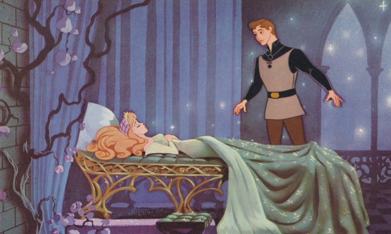 sleeping beauty and prince phillip sleeping beauty photo