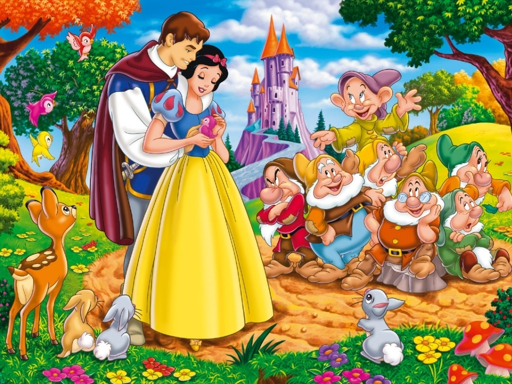 Seven Dwarfs Wallpaper