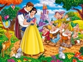 Snow White and the Seven Dwarfs hình nền