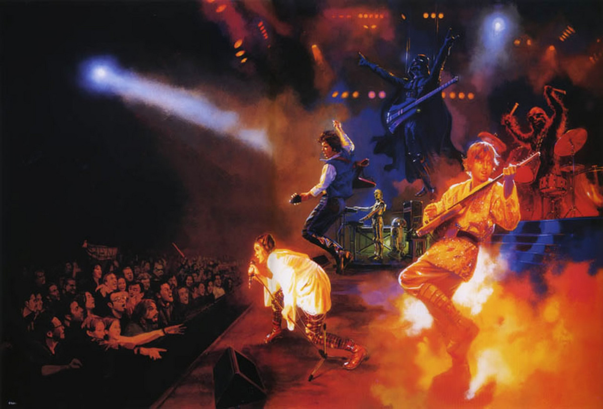 Star Wars Rock Concert