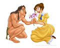 Tarzan and Jane - disney-couples photo
