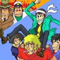 The Best Team Ever! - anime fan art