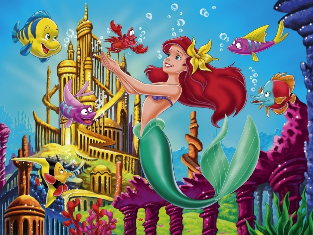 little mermaid wallpaper wallpaper