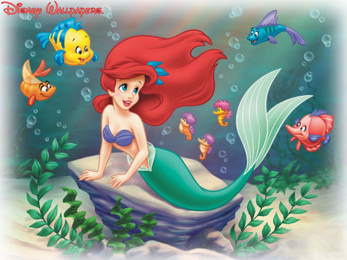Classic Disney wallpaper titled The Little Mermaid
