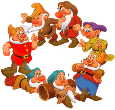 Snow White and the Seven Dwarfs achtergrond called The Seven Dwarfs