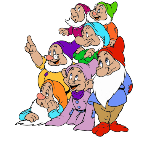 The Seven Dwarfs - snow-white-and-the-seven-dwarfs Photo