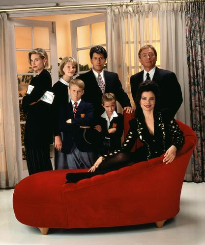 The Nanny wallpaper with a business suit called The nanny
