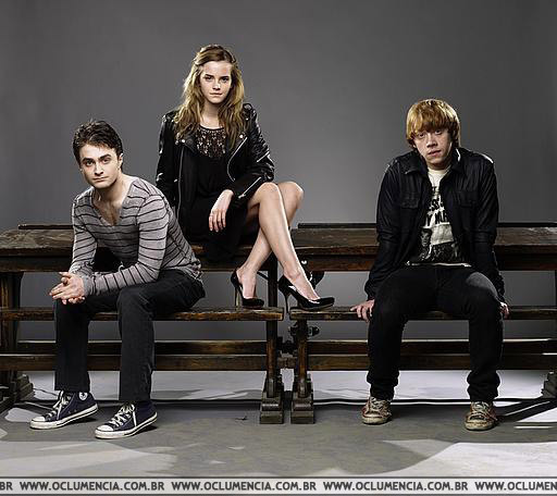 Trio Photoshoot in Empire Magazine - harry-potter photo
