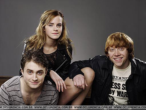 Trio Photoshoot in Empire Magazine