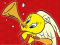 Tweety Bird Christmas Wallpaper - tweety-bird wallpaper