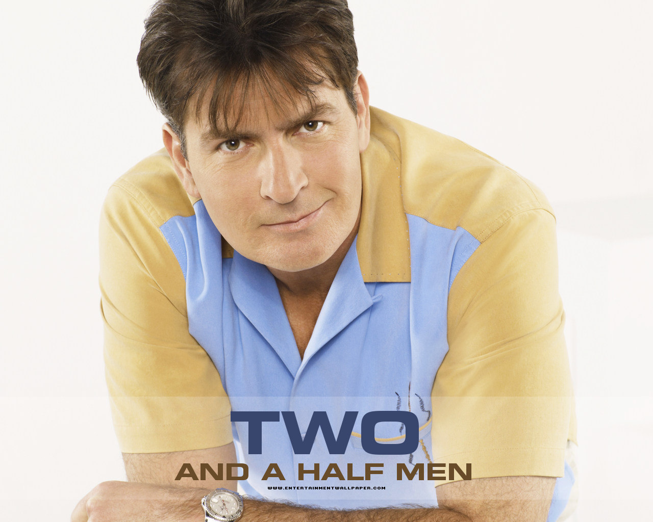 poster charlie harper two and a half men