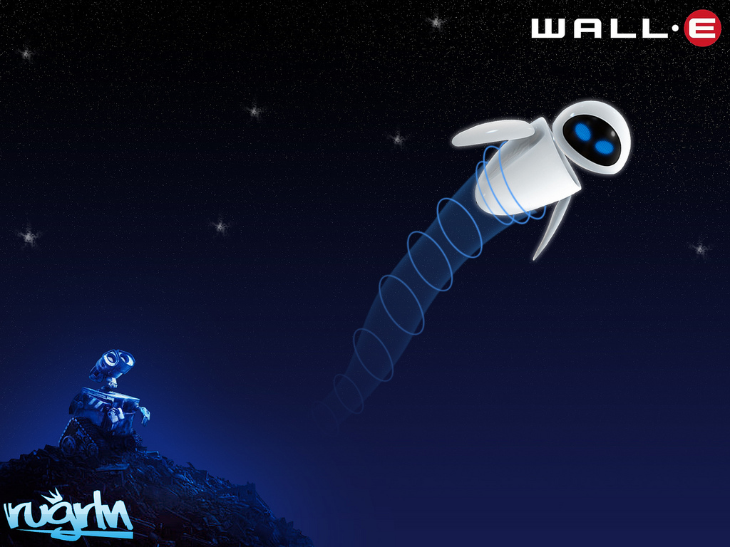 Wall*E Wallpaper - WALL-E 1024x768 800x600