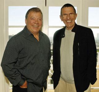 William Shatner & Leonard Nimoy - Kirk&Spock