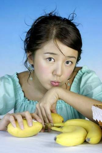 韓国ドラマ 壁紙 with a banana, a plantain, and an edible バナナ entitled Yoon Eun Hye co 星, つ星 Coffee Prince & Princess 時