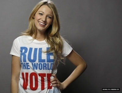 You Vote Campaign - blake-lively photo