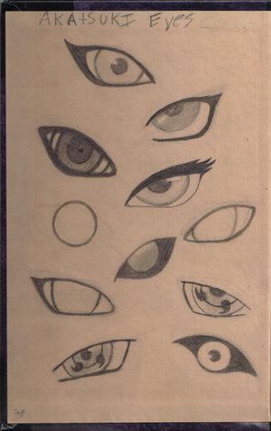 暁(NARUTO) eyes