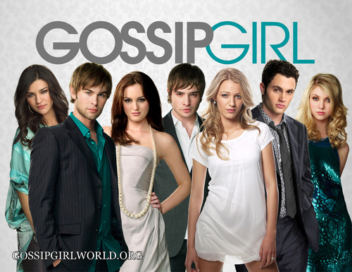 gossip girl poster (without the info at the bottom)