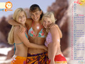 h2o_calendar - cariba-heine-and-phoebe-tonkin wallpaper