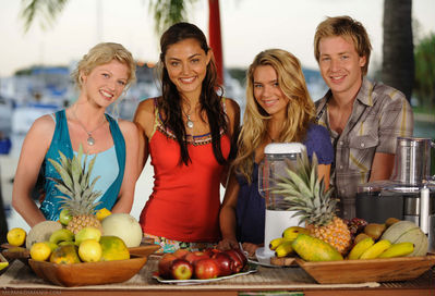 the cast of h2O - h2o-just-add-water photo