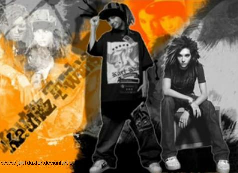 Tom & Bill Kaulitz fond d'écran containing animé entitled -KaulitzTwins♥