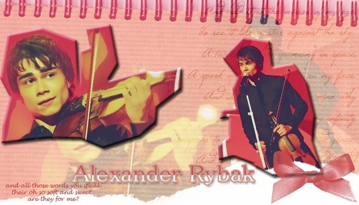 Alexander Rybak En İyi Fan Sitesi