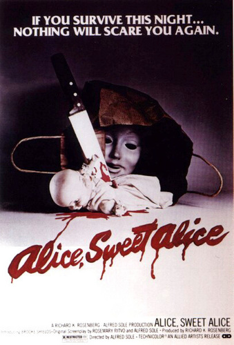 Alice,Sweet, Alice movie poster