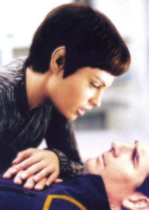 étoile, étoile, star Trek - Enterprise fond d'écran entitled Archer & T'Pol