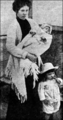 Baby Millvina with mother and brother - rms-titanic photo
