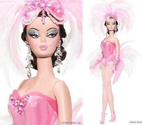 Barbie mostra Girl Doll