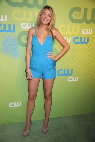 Blake at the CW upfronts