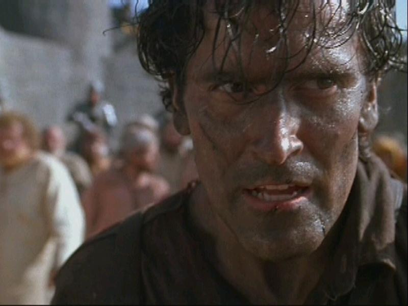 Bruce Campbell images Bruce Campbell as Ash HD wallpaper