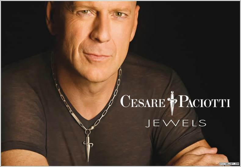 bruce willis wallpaper. Bruce Willis Cesare Paciotti Ad