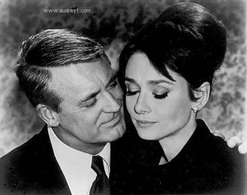 Cary Grant And Audery Hepburn