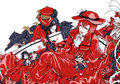Ciel et madam Red peminat art
