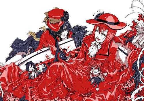 Ciel et madam Red shabiki art