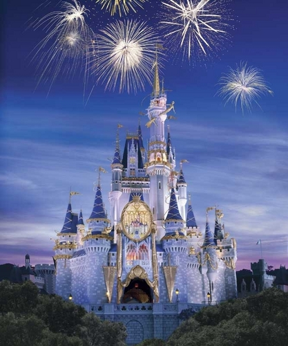 Cinderella's Disney Anniversary Castle