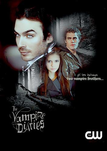 Damon, Stefan, & Elena