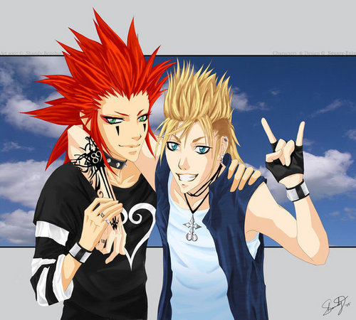 Demyx and Axel! OMG THEY ROCK!