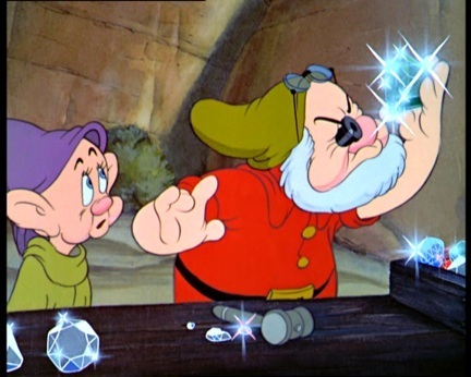 Snow White and the Seven Dwarfs wallpaper titled Doc and Dopey