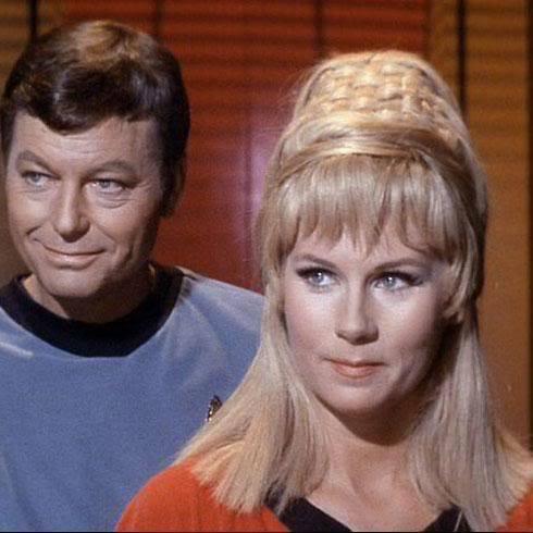 Doctor Leonard McCoy and Yeoman Jannice