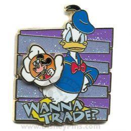 Donald बत्तख, बतख Pin