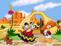 Donald and margarida pato wallpaper