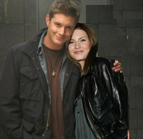 Elisha Cuthbert & Jensen Ackles wallpaper possibly with a well dressed person and a business suit called Elisha Jensen