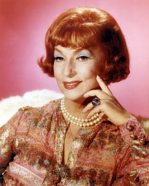 Bewitched wallpaper probably with a pullover, a blouse, and a portrait titled Endora