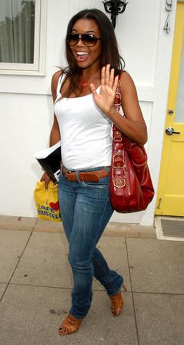 Gabby Leaving the Salon